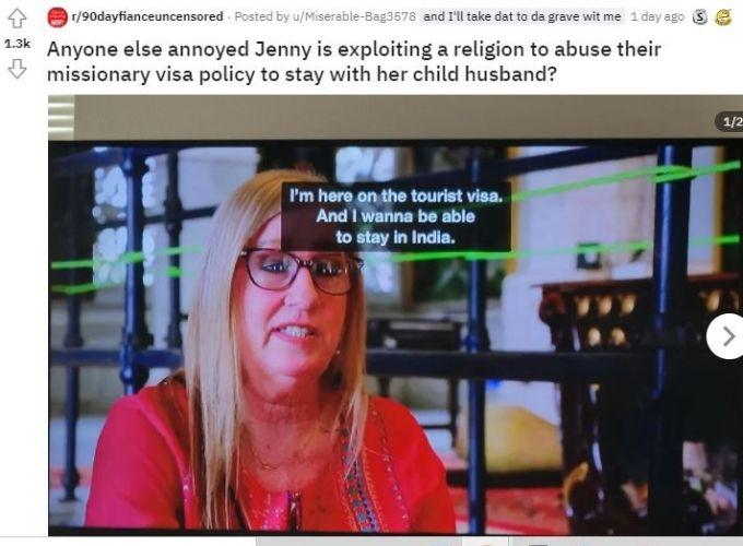 Reddit thread about Jenny Slatten