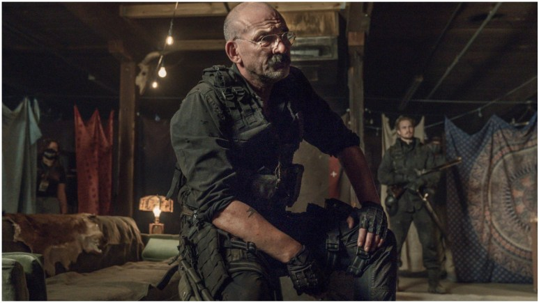 Ritchie Coster stars as Pope, as seen in Episode 4 of AMC's The Walking Dead Season 11