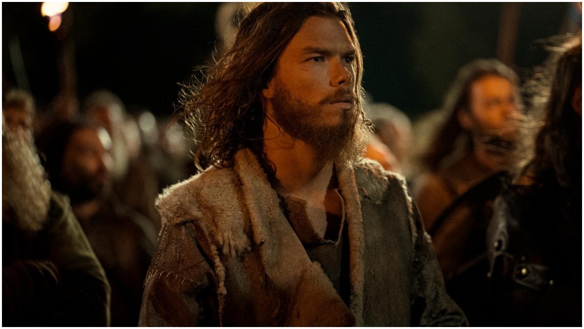 Sam Corlett stars as Leif Erikson in Season 1 of Netflix's Vikings: Valhalla