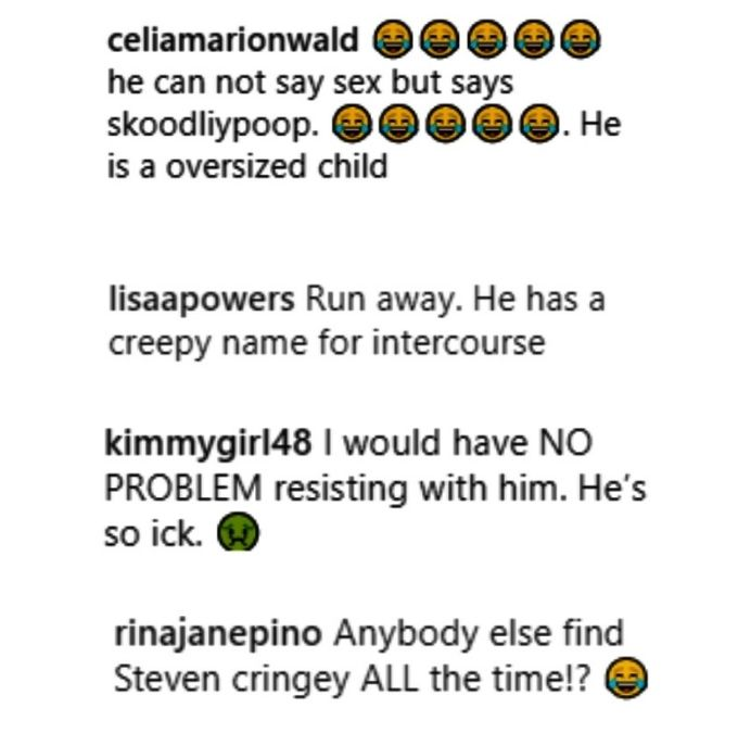 90 day fiance fans are creeped out by steven johnston's skoodilypoop talk with alina