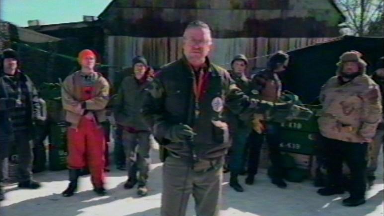 Still image from V/H/S/94 segment Terror.