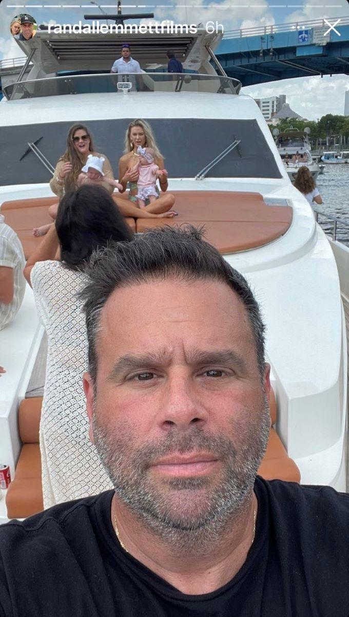 Selfie from Randall Emmett's IG Stories.