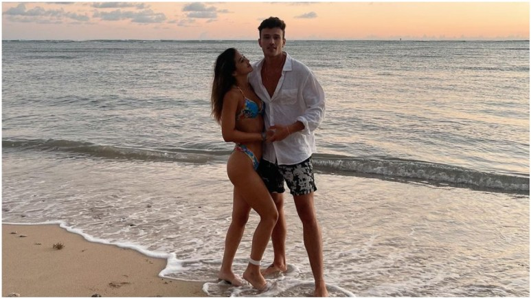 Will and Kyra from Love Island USA