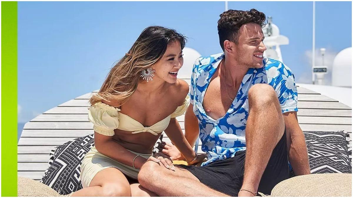 Will and Kyra on Love Island USA
