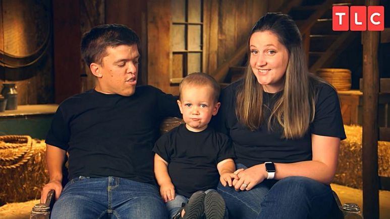 Zach, Jackson, and Tori Roloff of LPBW