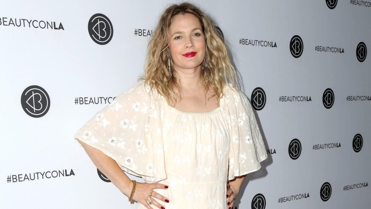 Drew Barrymore at beautycon