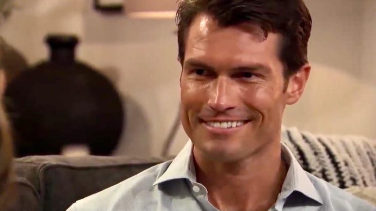 Bennett Jordan smiles