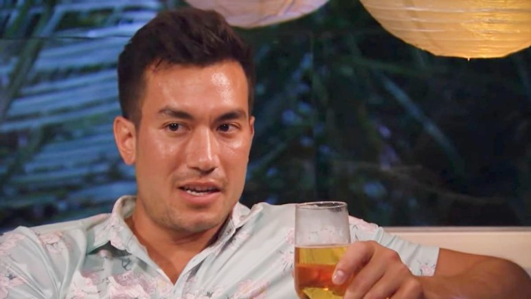 Chris Conran on Bachelor in Paradise