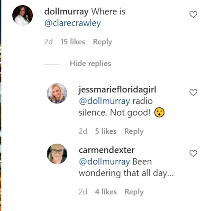 Comments on Dale Moss's Instagram post