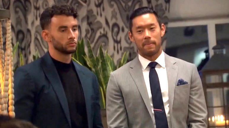 Joe Park and Brendan Morais in suits