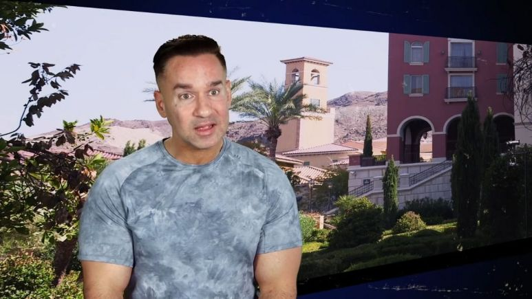 Jersey Shore Family Vacation star Mike Sorrentino called the cops after his brother showed up at his house uninvited