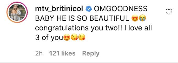 britni thornton comments on jenna and zach baby photos