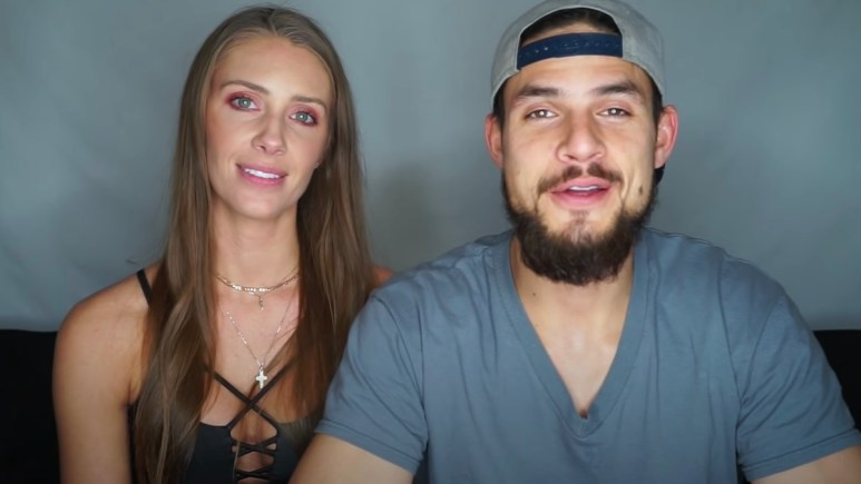 jenna compono with zach nichols in youtube video
