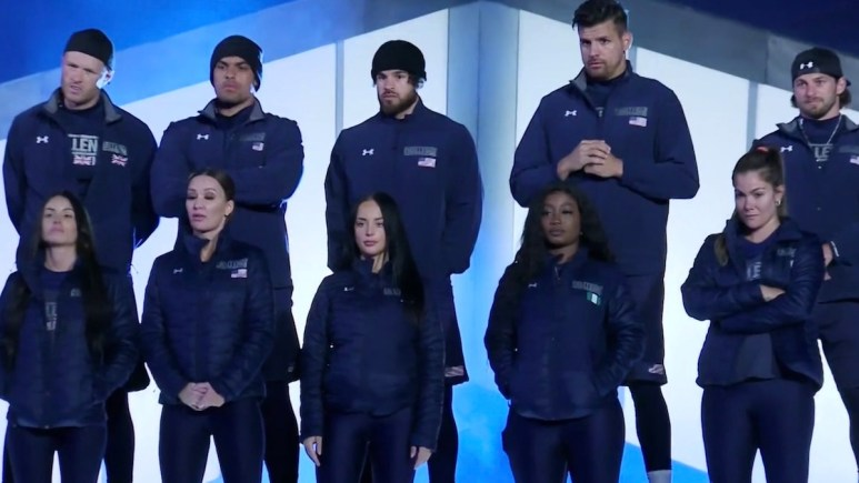 cast members during the challenge season 37 episode 5 elimination