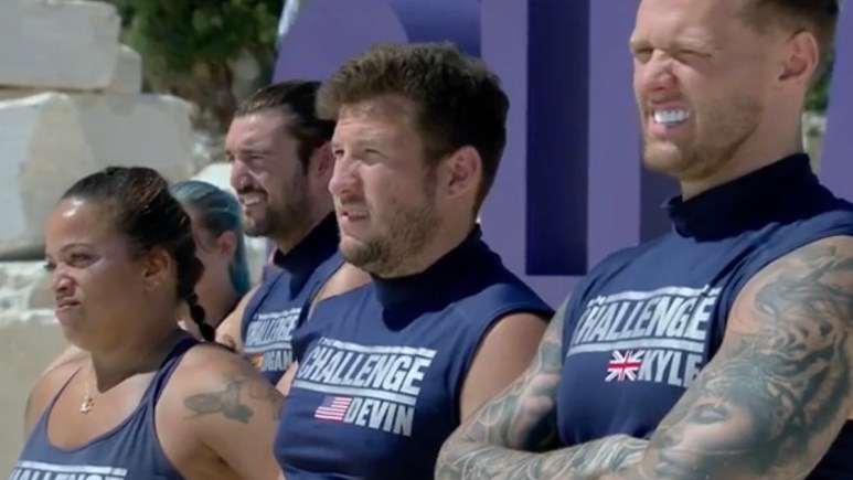 the challenge spies lies and allies cast members in episode 4 mission