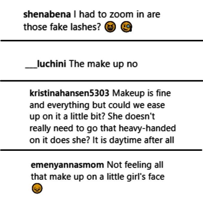 """teen mom 2 fans criticized leah messer on Instagram for letting daughter aleeah wear """"heavy"""" makeup"""