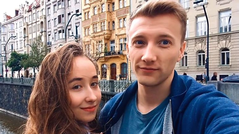 Alina with Steven Johnston of 90 Day Fiance: The Other Way