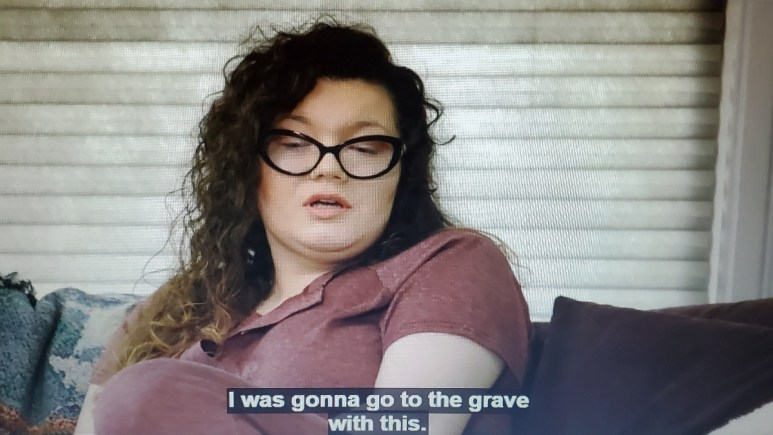 """amber portwood said she was """"gonna go to the grave"""" seemingly with her bisexuality"""