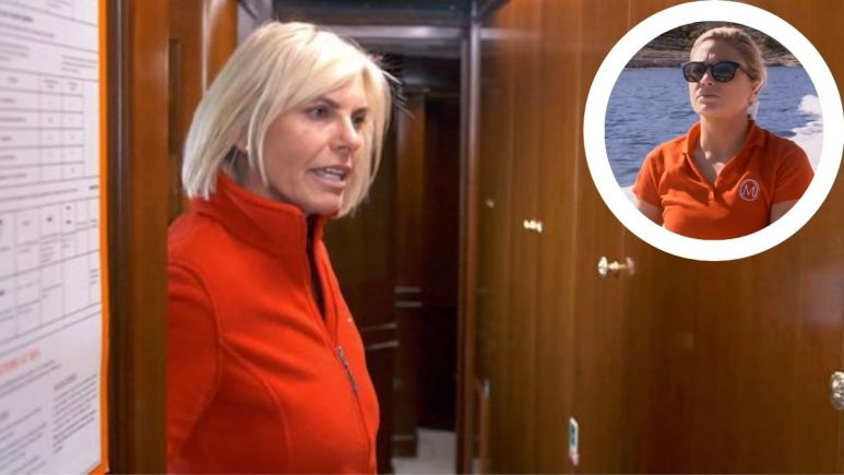 Captain Sandy Yawn from Below Deck Mediterranean says Malia White understood Cameo video calling her gay was a joke.
