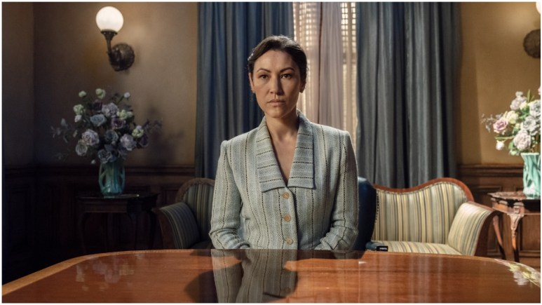 Eleanor Matsuura stars as Yumiko, as seen in Episode 7 of AMC's The Walking Dead Season 11