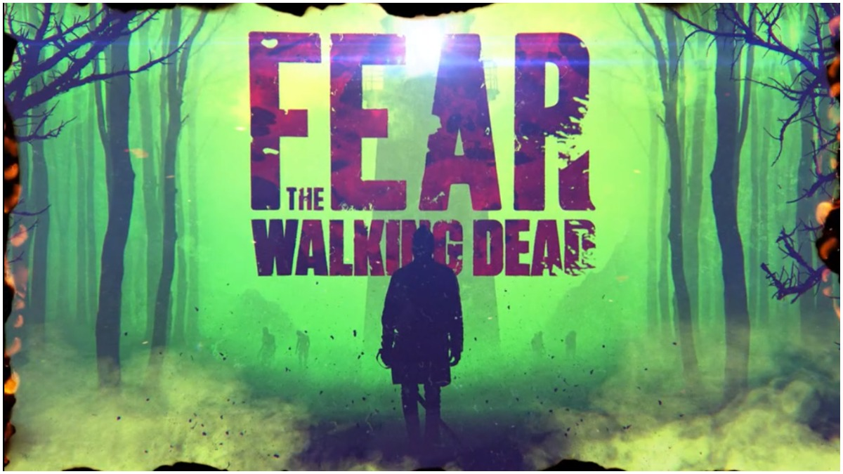 Opening credits for Episode 1 of AMC's Fear the Walking Dead Season 7