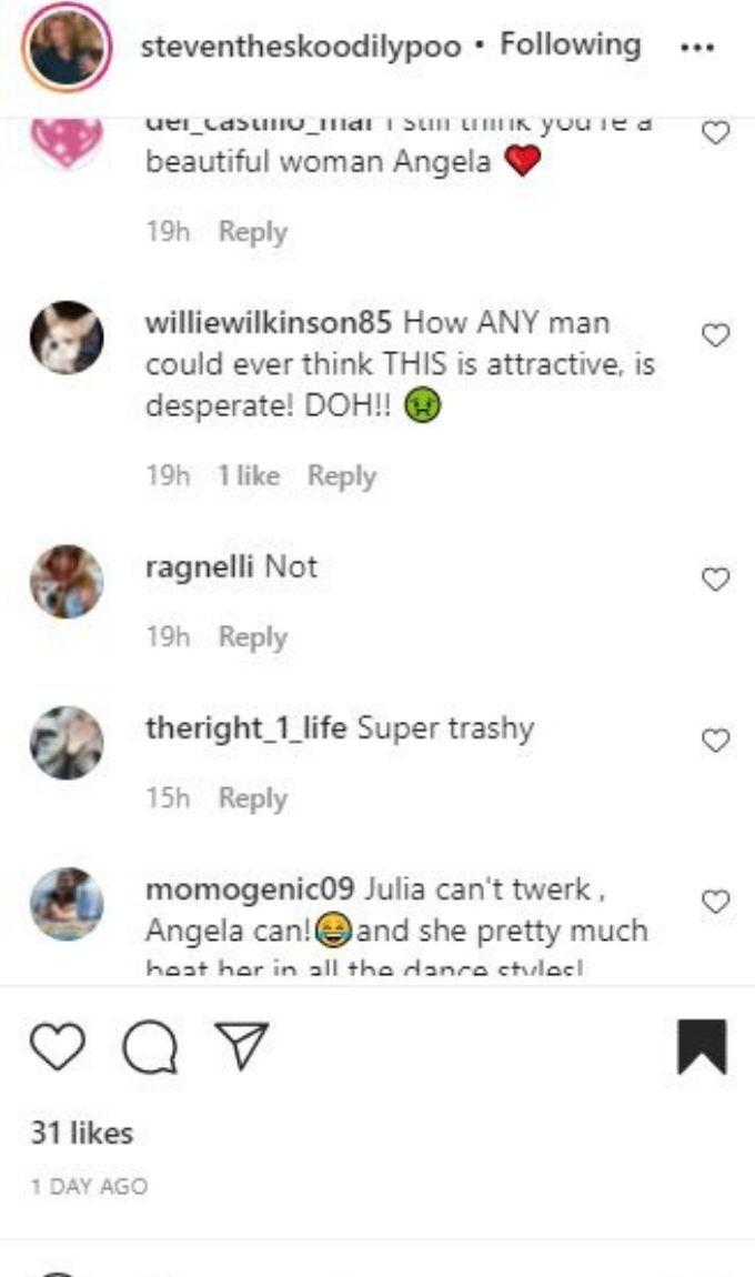 IG comments about Angela Deem