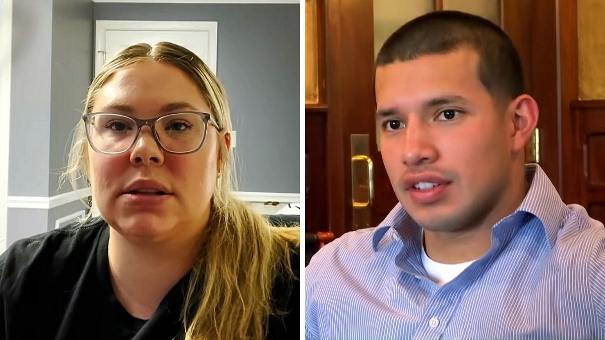 Kail Lowry and Javi Marroquin from Teen Mom 2