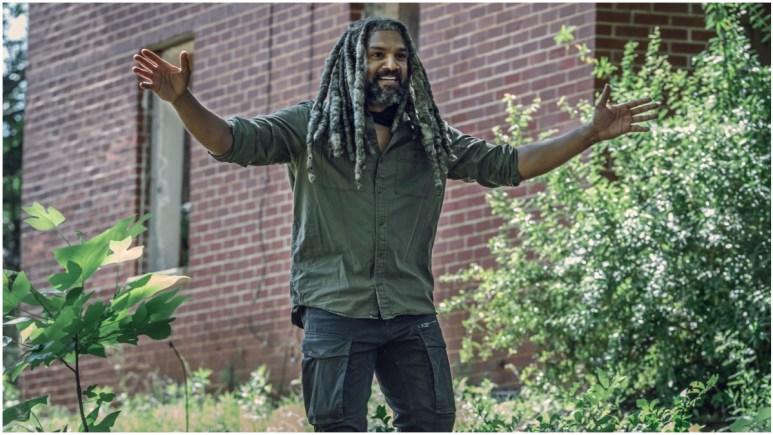 Khary Payton stars as Ezekiel, as seen in Episode 7 of AMC's The Walking Dead Season 11