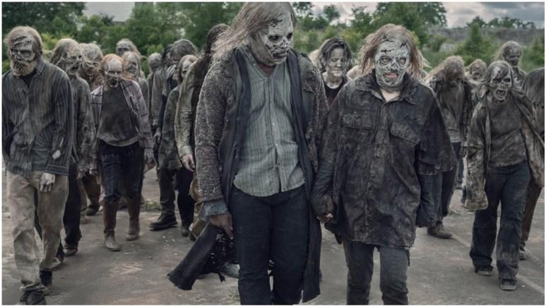 Okea Eme-Akwari as Elijah and Lauren Cohan as Maggie Rhee, as seen in Episode 7 of AMC's The Walking Dead Season 11