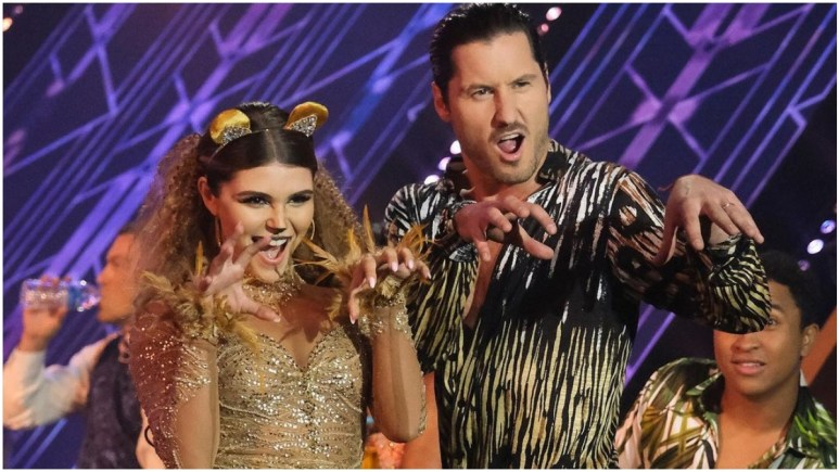 Olivia Jade and Val on Dancing With the Stars