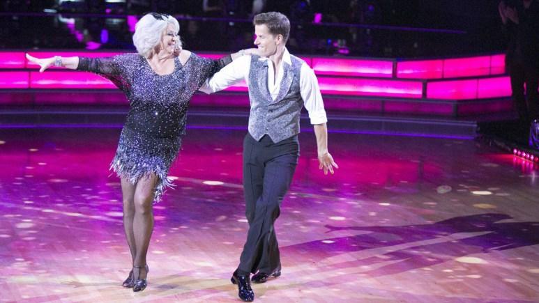 Paula Deen on Dancing With the Stars