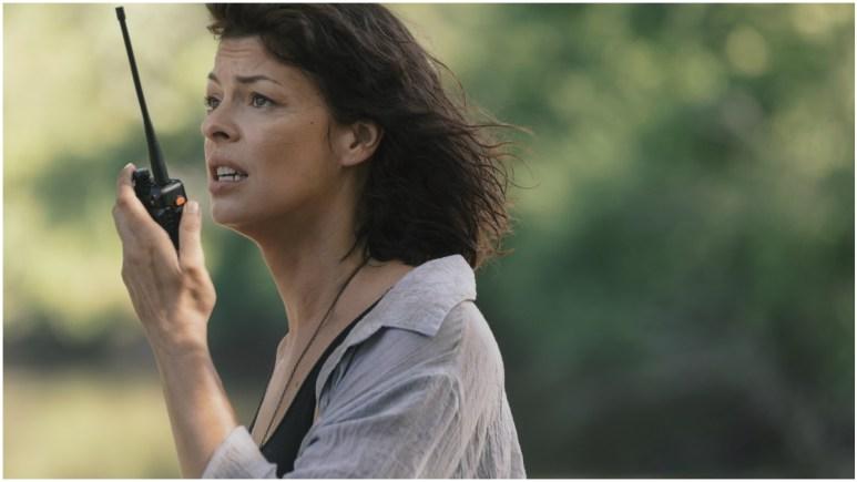 Pollyanna McIntosh stars as Jadis, as seen in Episode 5 of AMC's The Walking Dead Season 9