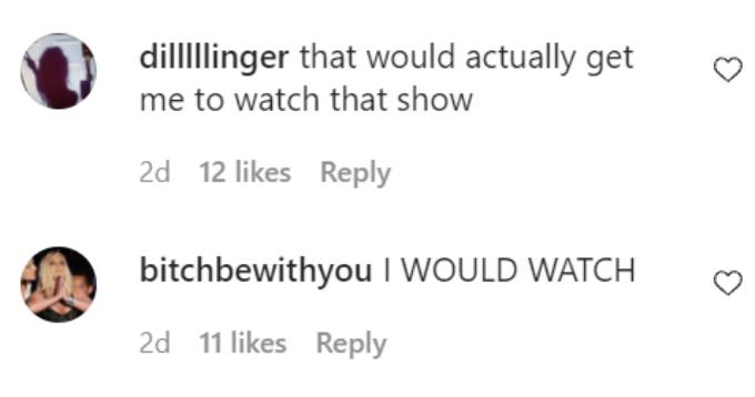 Comments about Kim Kardashian being The Bachelorette