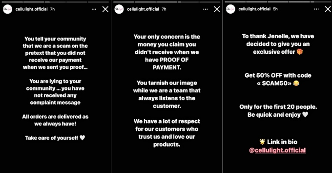 Company claps back after Jenelle Evans claims they scammed her