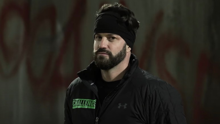 johnny bananas during the challenge total madness season