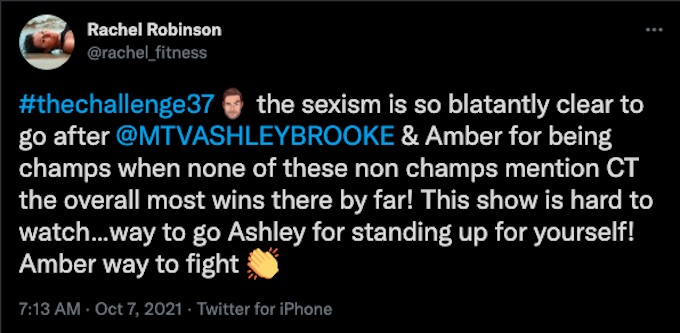 rachel robinson tweets about the challenge season 37 strategy for vets