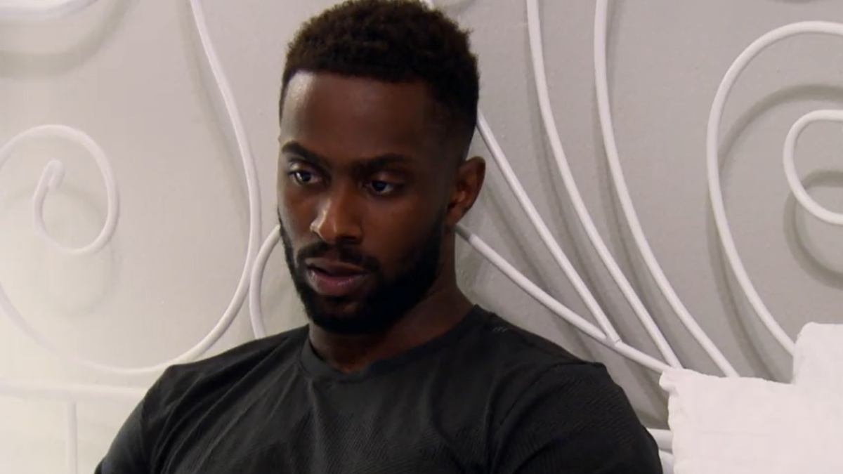 MAFS Zack looks disappointed