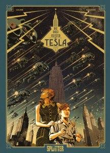 Die drei Geister von Tesla Band 1 Das štokavische Geheimnis von Marzano und Guilhem Comickritik