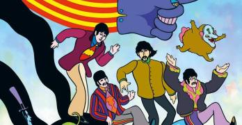 The Beatles Yellow Submarine Die Graphic Novel von Bill Morrison Comickritik