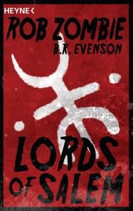 Lords of Salem von Rob Zombie und B.K. Evenson Buchkritik
