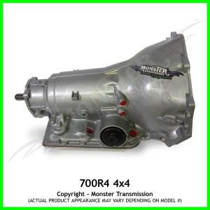 700R4, 700R4 Transmission, 700R4 4x4, 700R4 4WD, 700R4