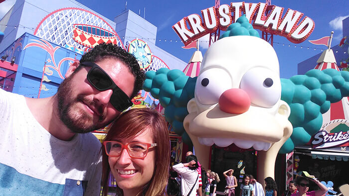 Visitar-Universal-Studios-Hollywood-simpsons