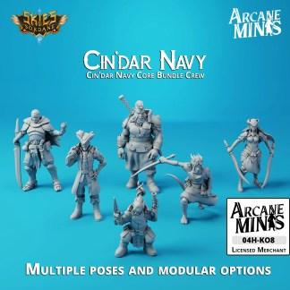 Cin'dar Navy Core Crew
