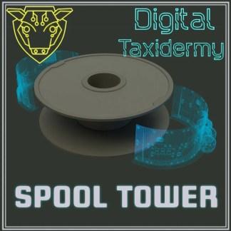 Digital Taxidermy Spool Tower