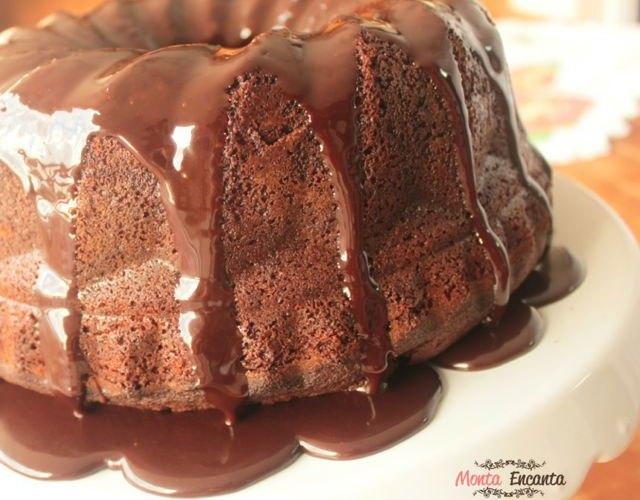 Bolo de Chocolate Rapidinho, um sonho!