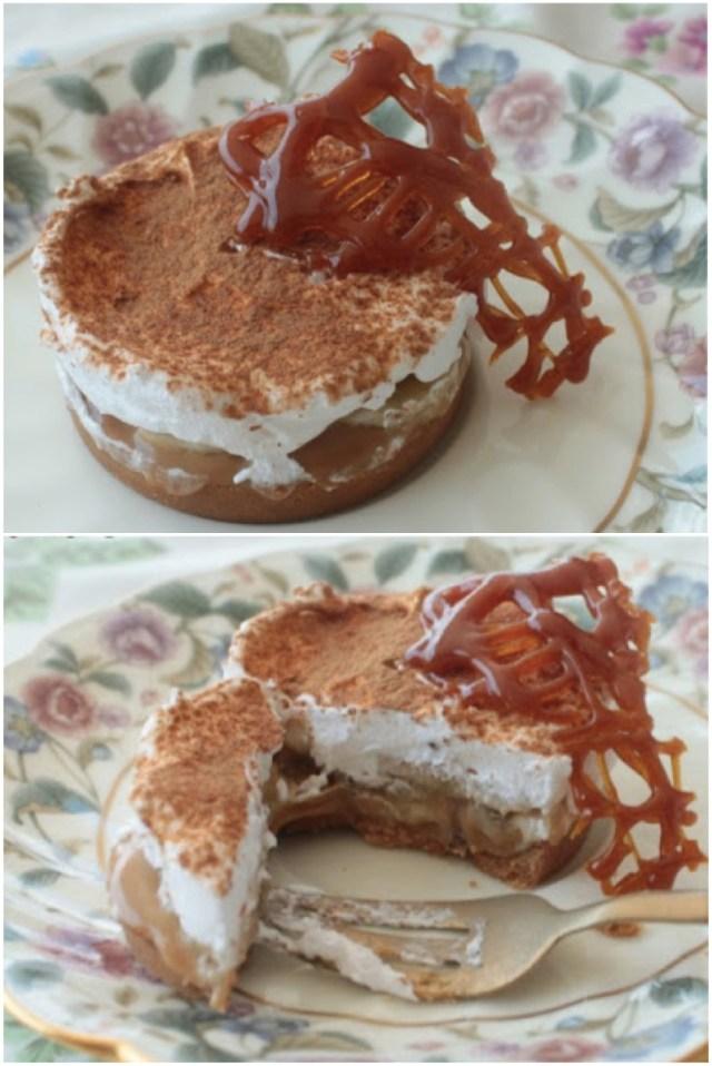 Torta de Banana Banoffee Pie