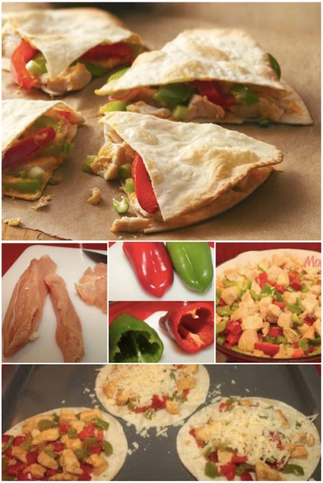 Chicken Quesadilla Mexicana