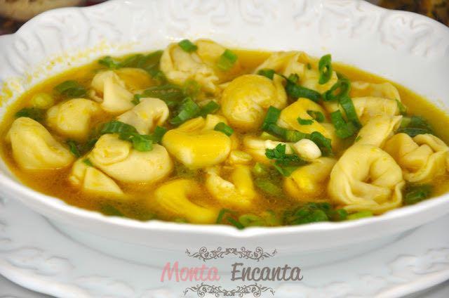 Capeletti in Brodo, prato típico italiano!