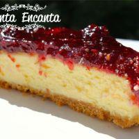 Cheesecake receita tradicional americana!