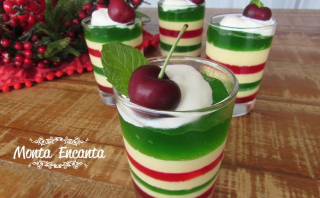 gelatina de natal